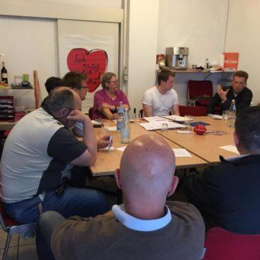 Sitzung des Vorstands der Neustadt-SPD mit Dr. Carsten Kühl
