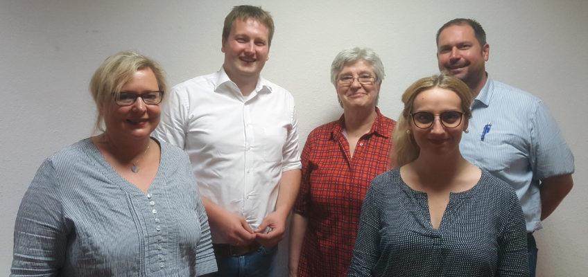 Alexandra Gill-Gers, Erik Donner, Astrid Clauss, Jana Schneiß und Johannes Klomann
